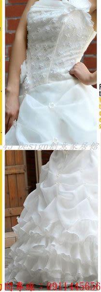 (45 Design創意家居館) 空運訂製款 7天到貨 新款拖尾婚禮 婚紗抹胸 時尚長款婚紗禮服