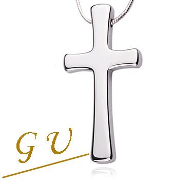 【GU】W19a男友 禮物鋼鏈吊墜鋼鍊項鍊 男鎢鋼鈦鋼 GresUnic Agloce 十字架烏玄項鍊 男