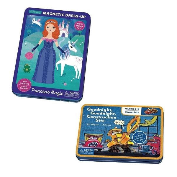 美國 Mudpuppy 磁鐵遊戲盒(2款可選)