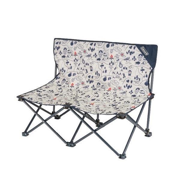 【南紡購物中心】【Coleman】露營地圖情人休閒戶外摺疊椅/CM-33438M000