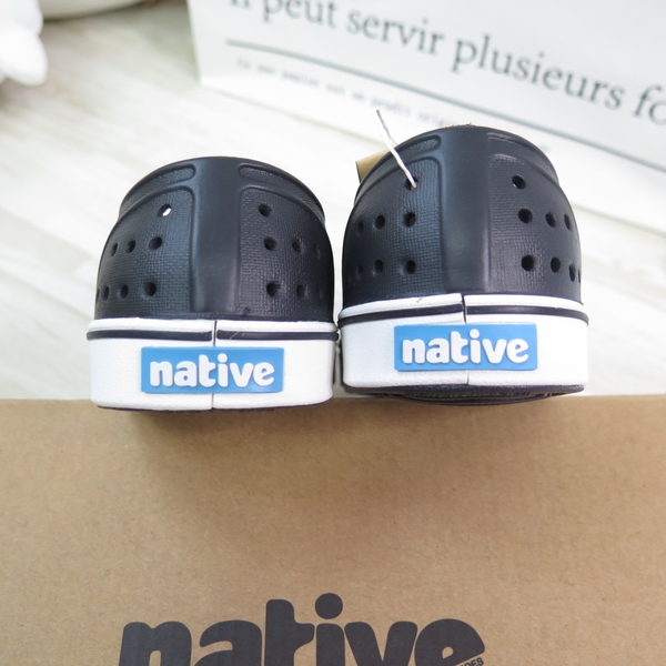 Native MILE CHILD 中童鞋 洞洞鞋 151046001105 黑【iSport愛運動】