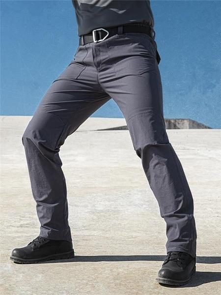 夏季執政官戰術長褲男彈力修身工裝褲特種兵作訓褲軍迷戶外速干褲 霓裳細軟