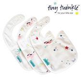 美國 tiny twinkle 圍兜三入/口水巾/領巾(小鳥/獨角獸/星星)