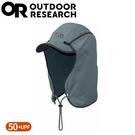 【Outdoor Research 美國 抗UV透氣鴨舌護頸帽《灰綠》】243433/防曬後遮/棒球帽/登山健行