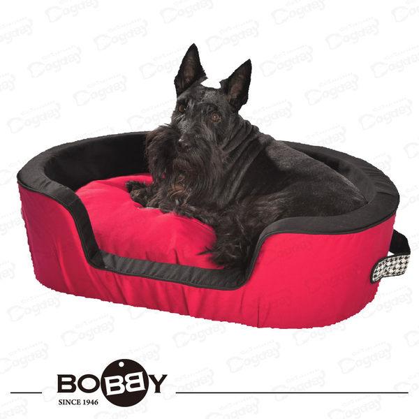 法國《BOBBY》時尚男女睡窩 S  全床可拆洗 挺拔外框 小狗床 睡窩 貴賓/馬爾濟斯