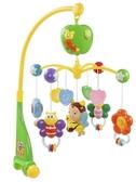 福利品音樂鈴穀雨新生兒床鈴0-1歲嬰兒玩具3-6個月寶寶益智音樂旋轉搖鈴床頭鈴YYP 俏女孩