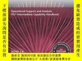 二手書博民逛書店Operational罕見Support And Analysis Itil Intermediate Capab