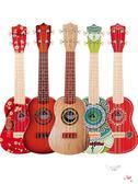 尤克里里初學者兒童小吉他玩具琴仿真可彈奏女孩男孩音樂入門樂器xw 全館免運