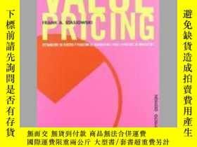二手書博民逛書店Value罕見PricingY405706 Frank A Stasiowski ISBN:97884252
