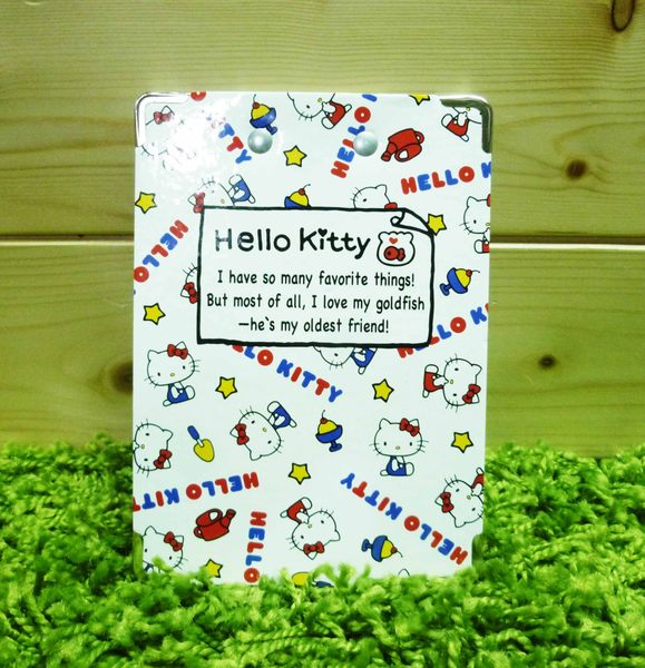 【震撼精品百貨】Hello Kitty 凱蒂貓~夾板附便條紙-紅白色【共1款】