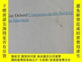 二手書博民逛書店Comments罕見on the Society of Spec