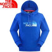 【The North Face 男 LOGO 兜帽套頭衫 怪獸藍】CZF5/連帽長袖★滿額送