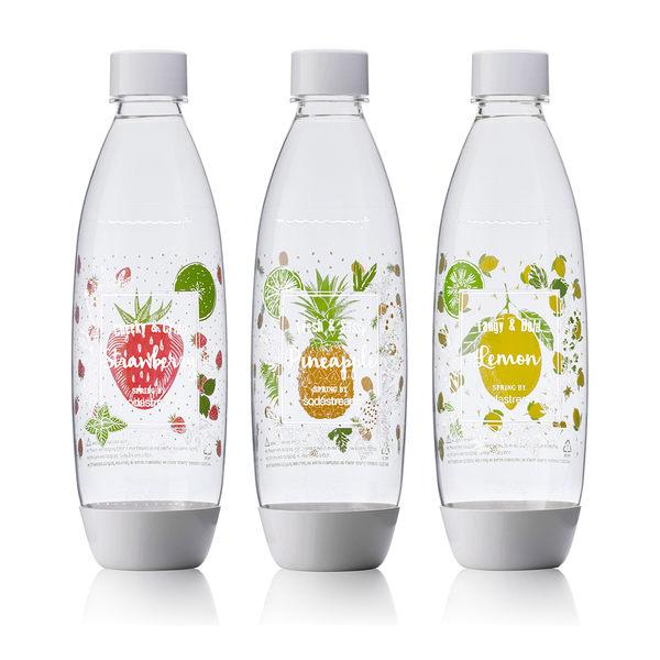 Sodastream 夏日果宴水滴寶特瓶1L (一組3入)