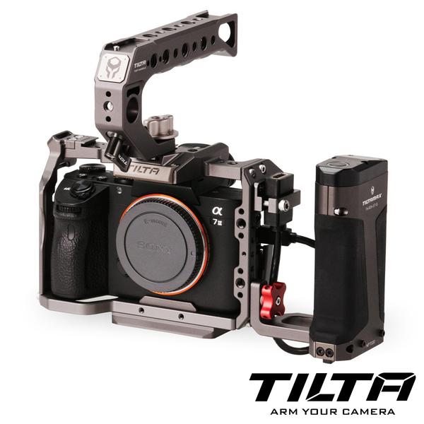 TILTA 鐵頭 TA-T17 兔籠 承架 含把手 灰色 標準版 / Sony A7RIII A7RIV A9 適用 (TA-T17-B-G)
