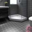 防水地貼浴室陽臺自粘墻貼耐磨瓷磚貼紙臥室地板貼紙【匯美優品】
