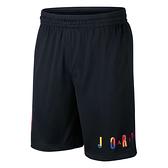 NIKE AIR JORDAN 黑 彩色字母 籃球褲 男 (布魯克林) AV0115-010