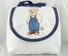 【震撼精品百貨】Mothercare 泰迪熊~後背包『白』