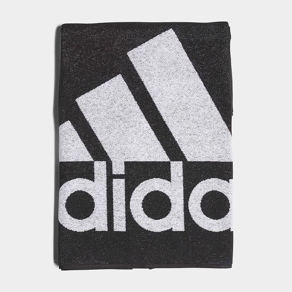 Adidas Towel L 70x140cm [DH2866] 毛巾 運動 健身 吸水 吸汗 舒適 快乾 黑白 大