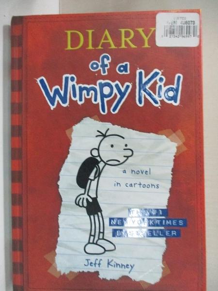【書寶二手書T2/原文小說_IC9】Diary of a Wimpy Kid_Kinney, Jeff