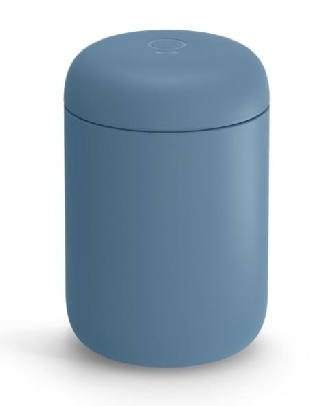 金時代書香咖啡 Fellow Carter 咖啡陶瓷真空保溫瓶 12oz 理光藍 Fellow-Ca-12BL