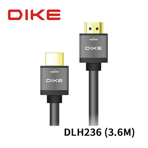 DIKE DLH236 高畫質4K 極細 HDMI線1.4版 3.6M