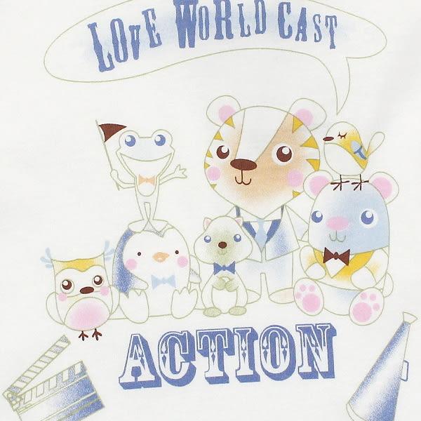 【愛的世界】純棉圓領歡唱時光背心/1~2歲-台灣製-n1n2 ★春夏上著 夏出清