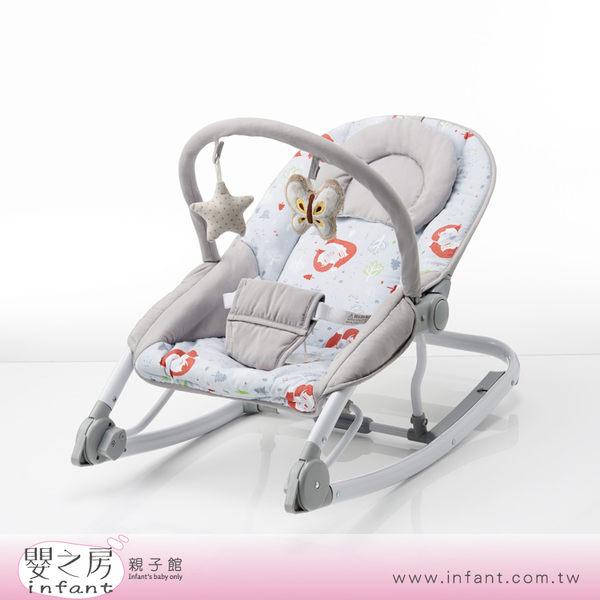 【嬰之房】Baby City娃娃城 搖搖椅(附海星與蝴蝶填充玩具)