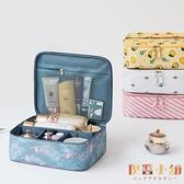 化妝包女便攜超大高級感旅行簡約隨身化妝品收納包【倪醬小鋪】