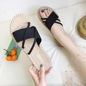 拖鞋 新款夏季涼拖鞋女外穿時尚正韓百搭網紅平底ins潮沙灘可濕水 【2021歡樂購】