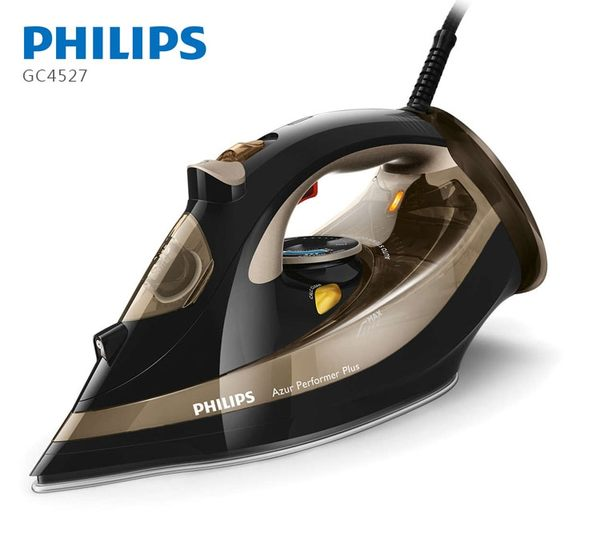 加贈抗菌噴霧【飛利浦 PHILIPS】Azur Performer Plus 蒸氣熨斗(GC4527)