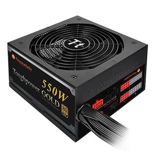 Thermaltake曜越 Toughpower 550W 模組化電源供應器(金牌)