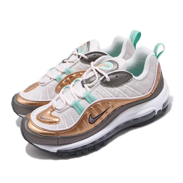 【五折特賣】Nike 休閒鞋 Wmns Air Max 98 SE 灰 白 女鞋 復古慢跑鞋 氣墊 運動鞋 【ACS】 BV6536-002