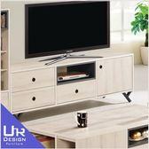 北歐工業風優娜6尺電視櫃(19Z40/821-2)