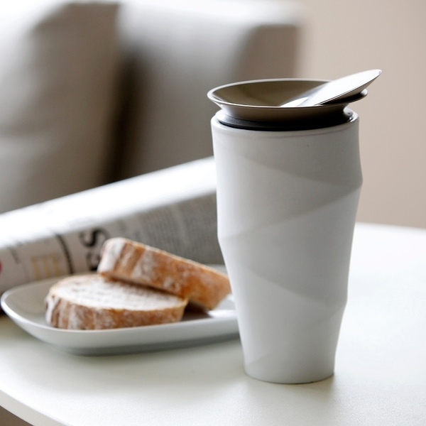 TOAST WAVE雙層咖啡杯310ml 下午茶 咖啡時光 咖啡杯 雙層陶瓷杯 咖啡精品 好生活
