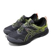 Asics 慢跑鞋 Gel-Sonoma 5 GTX 灰 綠 男鞋 戶外 運動鞋 防水 【ACS】 1011A660020