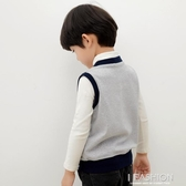 兒童馬甲秋外穿寶寶馬夾外套小孩秋冬針織純棉保暖背心男童坎肩-ifashion