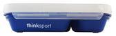 美國thinkbaby 不鏽鋼分隔餐盤組-海軍藍