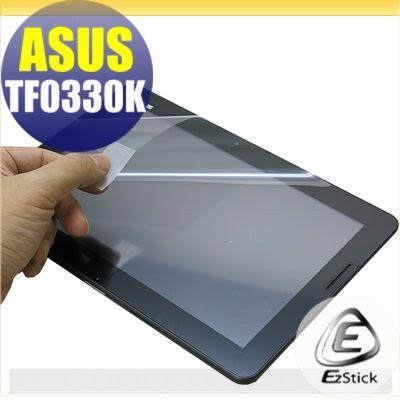 【Ezstick】ASUS TF0330K K01B 專用 靜電式平板LCD液晶螢幕貼 (可選鏡面防汙或高清霧面)
