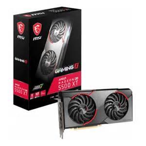 微星 Radeon RX 5500 XT GAMING X 8G【刷卡含稅價】