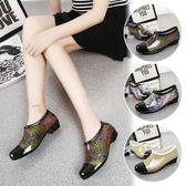 韓國時尚淺口夏季晴雨鞋女短筒精品雨靴防滑低幫水鞋防滑膠鞋 降價兩天