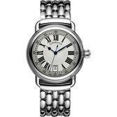 AEROWATCH 經典扭索時尚腕錶-銀/40mm A42900AA01M