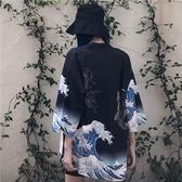 日系和服薄款雪紡透氣外套防曬衣男女【步行者戶外生活館】