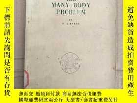 二手書博民逛書店the罕見many-body problem(P3669)Y173412
