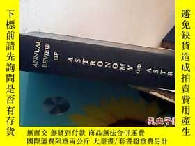 二手書博民逛書店annual罕見review of astronomy and