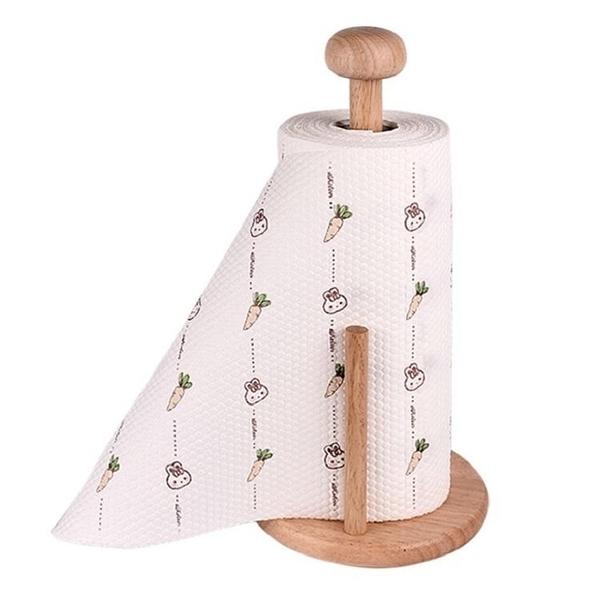 紙抹布SG654 印花廚房洗碗紙 重覆使用 吸油紙 料理紙巾吸可水洗捲紙廚房專用