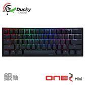 Ducky One 2 Mini 60% 銀軸 PBT二色成形不破孔 Cherry MX RGB 機械軸 機械式鍵盤