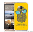 ✿ 3C膜露露 ✿【指印*立體浮雕硬殼】HTC ONE ME手機殼 手機套 保護套 保護殼