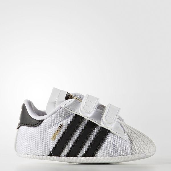 Adidas Superstar CRIB [S79916] 小童鞋 運動 休閒 經典 白 黑 愛迪達