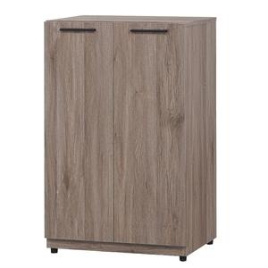 【MUNA 家居】古橡色2尺二門鞋櫃(鞋櫃 收納櫃 二門鞋櫃)