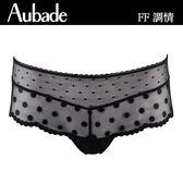 Aubade-調情L圓點平口褲(俏皮黑)FF